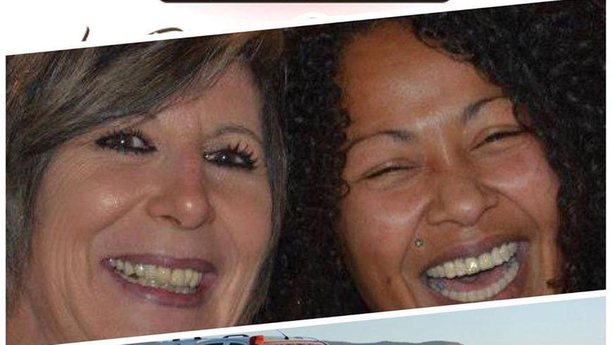 Marie France Gard et Madina Maitre
