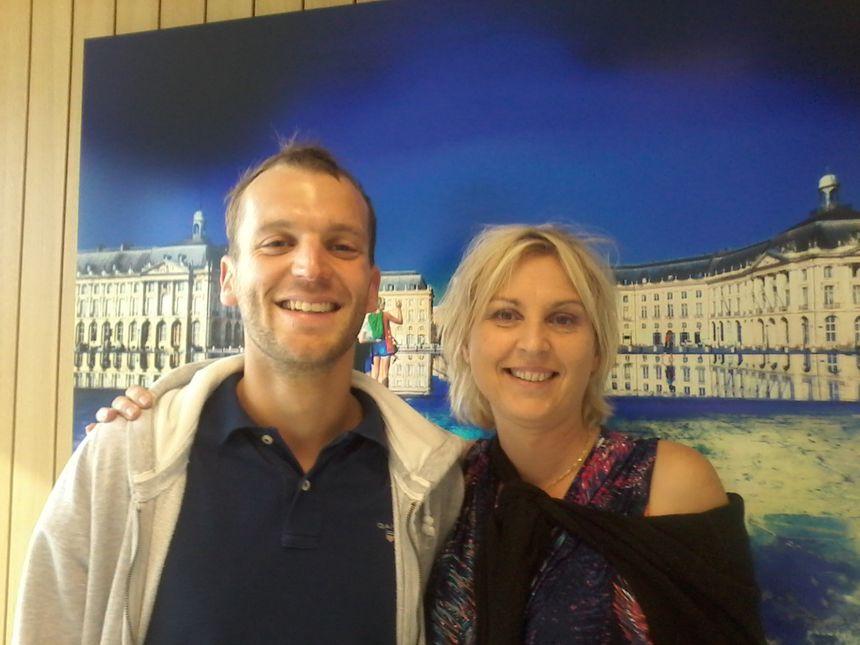 Lucas Degraves et Isabelle Wagner