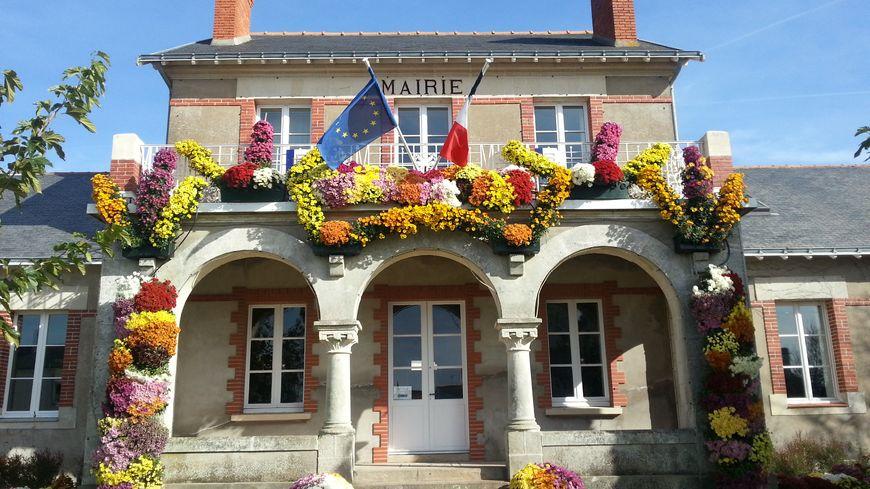La mairie de la Bernerie-en-Retz, station balnéaire de 2730 habitants.
