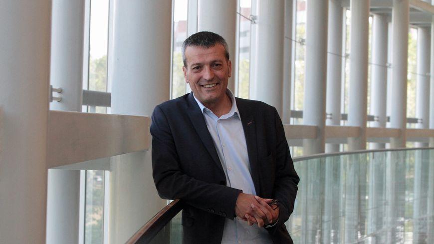 Edouard Martin au Parlement européen à Strasbourg