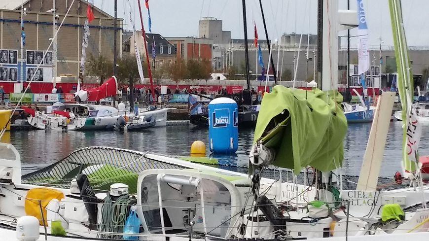 La Transat 2015 sur le bassin Paul Vatine au Havre