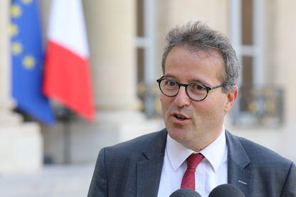 Martin Hirsch, Président de l'APHP à l'Elysée après une réunion avec le président de la République, Emmanuel Macron - 17 octobre 2017
