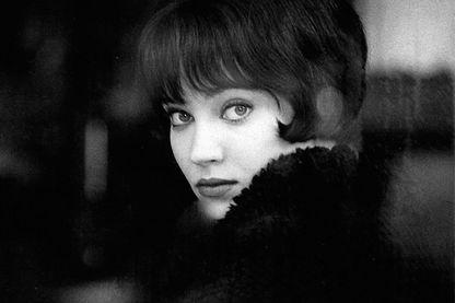 """Anna Karina dans """"Vivre sa vie"""" de Godard (1962)"""
