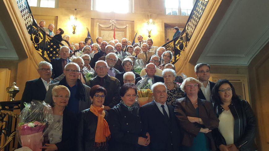 Après 50, 60 ou 65 ans de vie commune, 29 couples étaient à l'honneur au cours d'une cérémonie organisée dimanche 29 octobre à l'hôtel de ville de Metz.