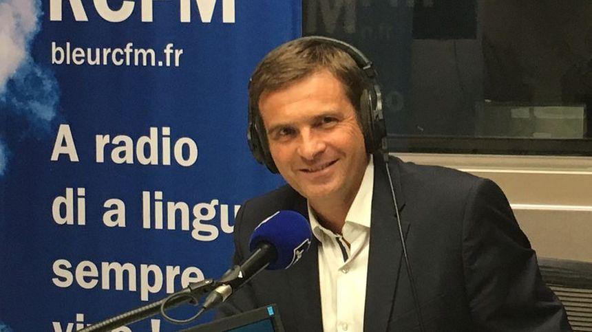 "Jean-Martin Mondoloni, leader de la liste de droite régionaliste, ""A Strada di l'Avvene""."
