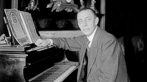 Serge Rachmaninov / Collection : Hulton Archive