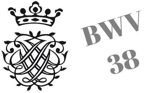 Monogramme de Bach - BWV 38