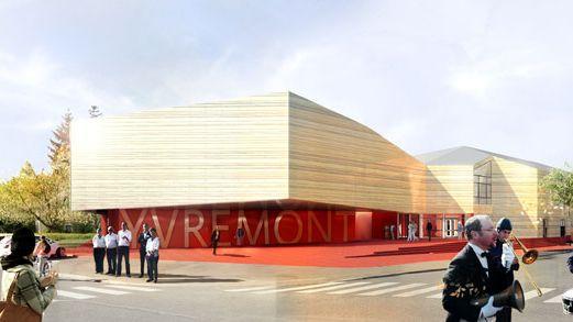 Le futur complexe culturel d'Yvremont