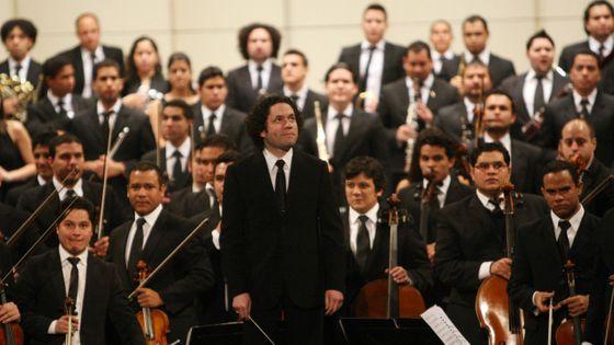 Gustavo Dudamel et l'Orchestre symphonique Simón Bolivar