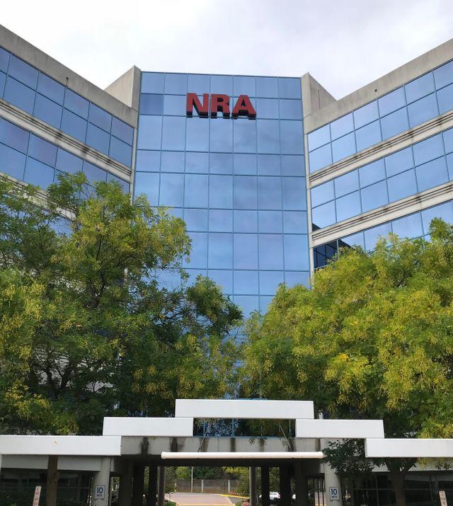 Le siège de la NRA à Fairfax (Virginie)