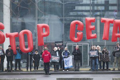 Manifestation contre le CETA à Berlin en février dernier