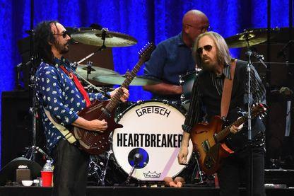 Tom Petty and the Heartbreakers en concert   le 25 avril 2017 à Nashville, dans le Tennessee.