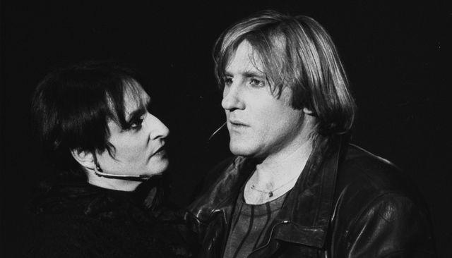 """Barbara et Gérard Depardieu, à Tours le 10 avril 1986 lors de la tournée de """"Lily Passion"""""""