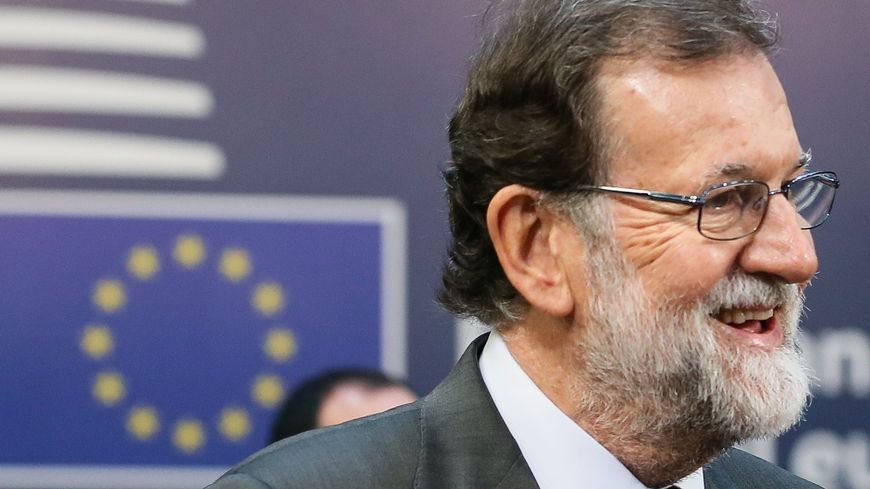 Le premier ministre espagnol Mariano Rajoy a reçu le plein soutien de ses homologues européens à Bruxelles