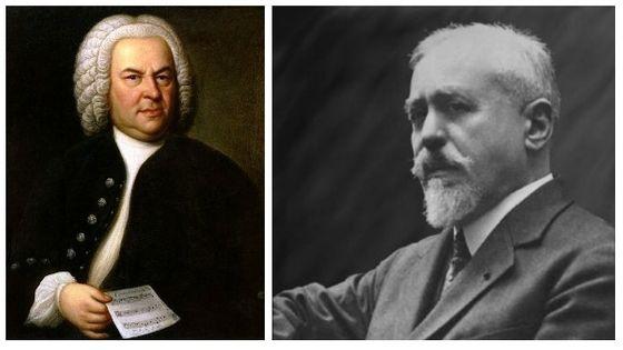 J-S Bach / Paul Dukas