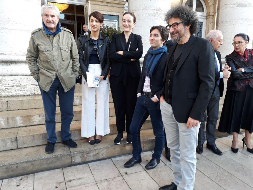 La ministre de la Culture très attendue ce vendredi matin devant le Grand Théâtre de Dijon, pour l'ouverture des 27e Rencontres cinématographiques