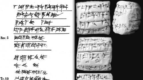 """Lire et écrire en Mésopotamie à l'époque paléo-babylonienne : la correspondance"""" (5/8) : L'art de citer et de copier"""