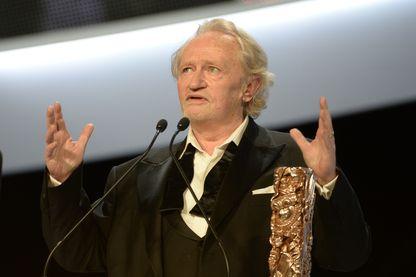 Niels Arestrup à la 39e cérémonie des César - février 2014