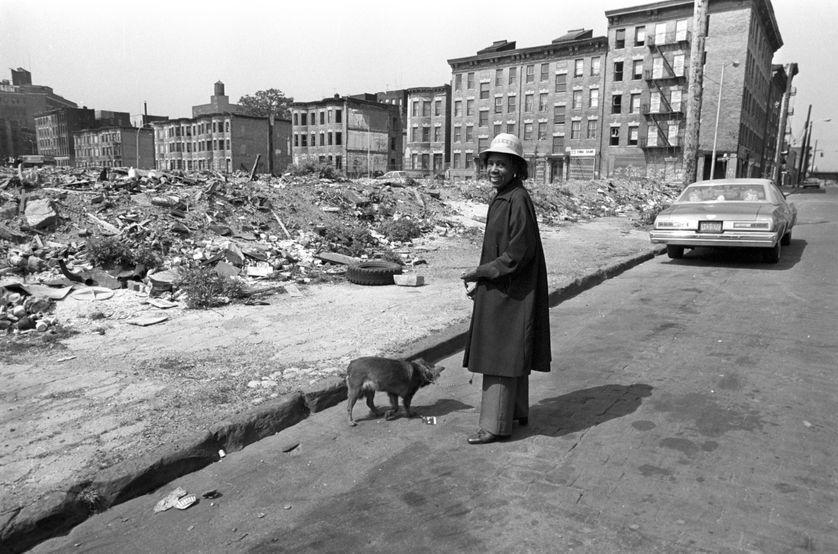 Une habitante du South Bronx en 1981
