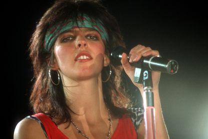 Nena en concert à Breme en juillet 1984
