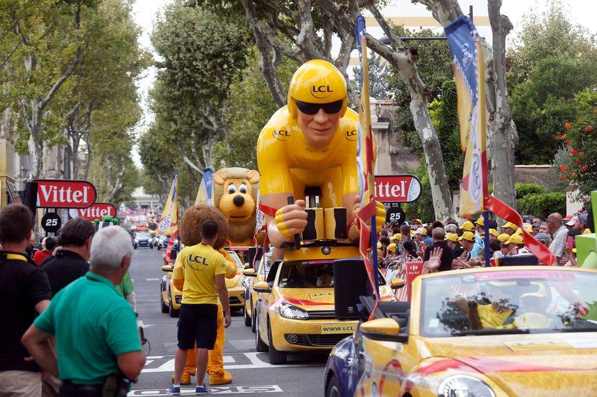 La caravane du Tour de France, et le peloton qui la suit, devrait s'élancer du lac de Saint-Pée-sur-Nivelle fin juillet 2018