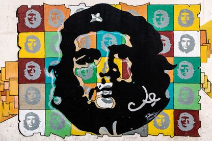Le Che sur un mur à La Havane
