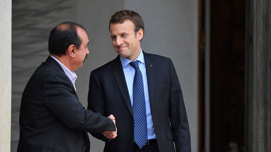 """Résultat de recherche d'images pour """"France/ Réforme de l'assurance chômage, Emmanuel Macron"""""""