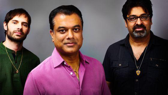 Dan Weiss, Rudresh Mahanthappa et Rez Abbasi