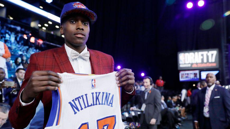 Frank Ntilikina doit faire ses premiers pas en NBA avec New-York à Oklahoma