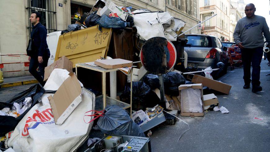Grève des salariés de la société Derichebourg dans le 2e, 15e et 16e arrondissements de Marseille (photo d'illustration)