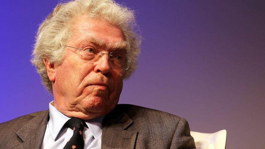 Pierre Joxe en décembre 2014
