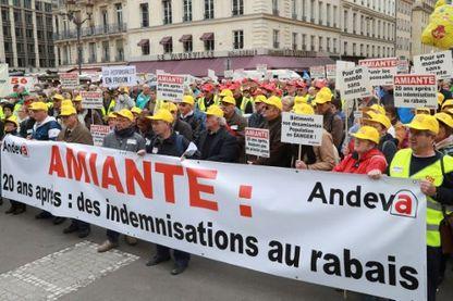 Manifestation à Paris en octobre 2016