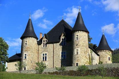 Château de Picomtal dans les Hautes Alpes, où les mémoires du menuisier Joachim Martin ont été découverte en 2000