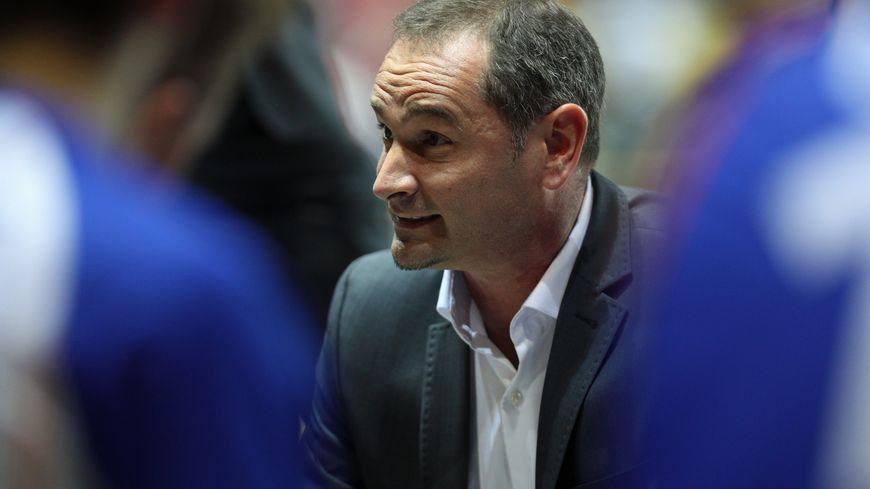 L'entraineur du CCRB, Frédéric Heitz pouvait avoir le sourire après la victoire des siens face au Limoges CSP vendredi soir