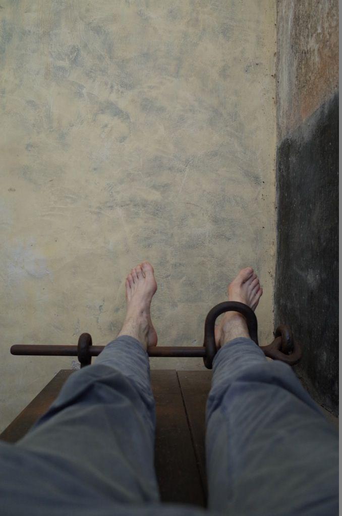Chair du Bagne - Autoportrait au cachot 562