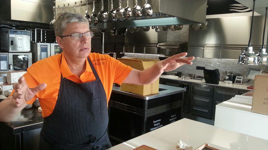 Patrick Gauthier cherchait depuis une dizaine d'années à voir plus grand pour son restaurant, le seul étoilé à Sens (Yonne)