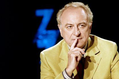 """Pierre Bergé le 9 juillet 1989 à l'émission """"7/7"""" sur TF1."""