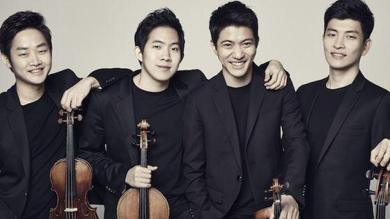 Le Novus Quartet © Novusstringquartet.com