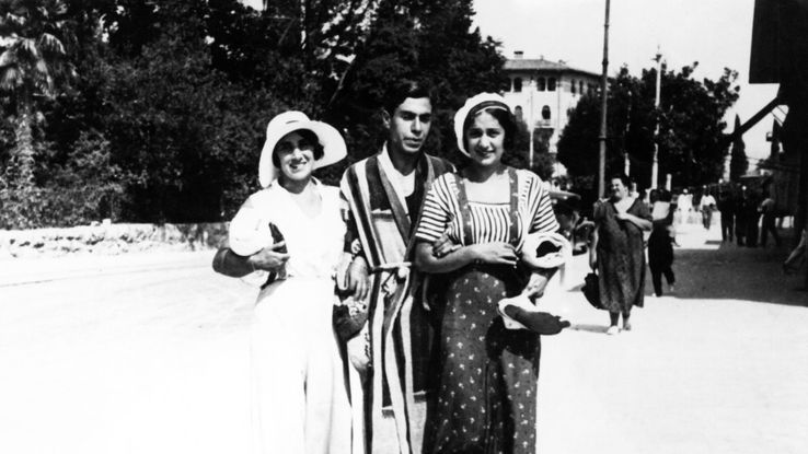 Ettore Majorana et ses soeurs
