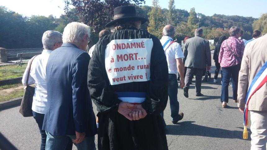 Le message du maire de Mézières-en-Brenne, Jean-Louis-Camus.