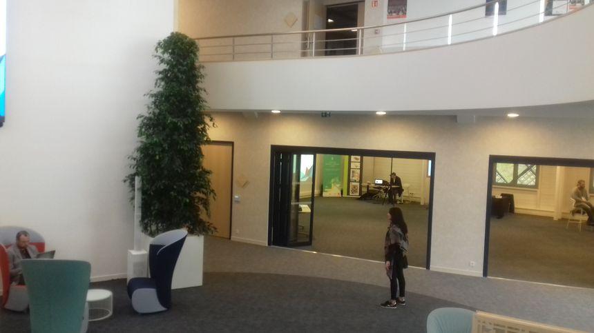 L'agora du Laval Virtual Center