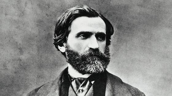 Portrait de Giuseppe Verdi, en 1870.