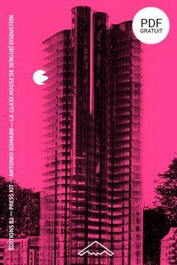 Couverture de l'ouvrage La Glass House de Sergueï Eisenstein