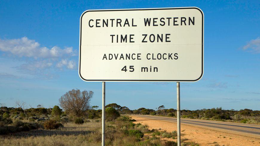 L'Australie peut avoir jusqu'à 5 heures différentes, espacées de 30, 45 minutes ou 60 minutes.