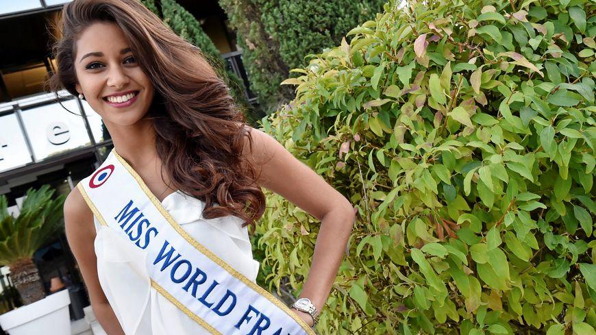 Aurore Kichenin, Miss Languedoc-Roussillon, 1ère dauphine de Miss France 2017.