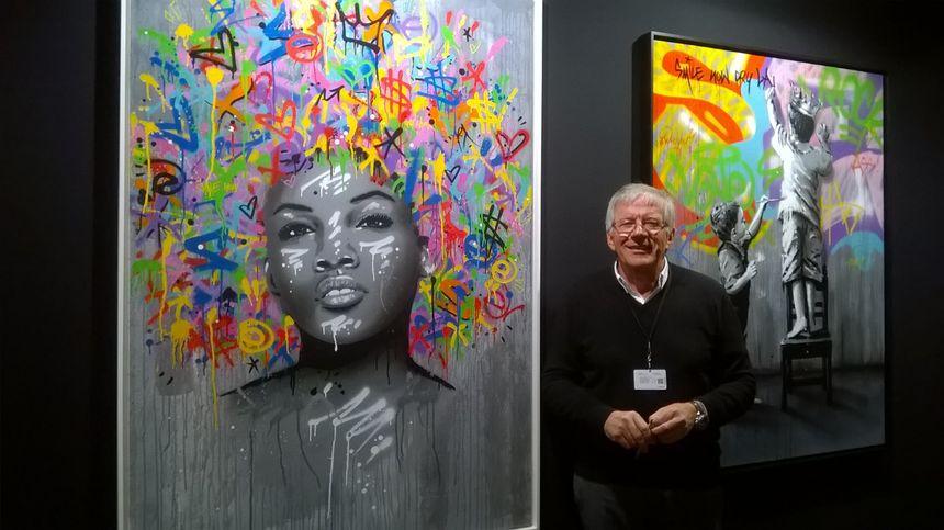 Roger Schupp est présent au salon d'art contemporain de Strasbourg