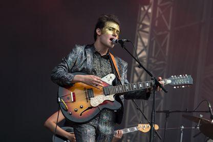 Pablo Padovani chanteur de Moodoid à Paris en 2014