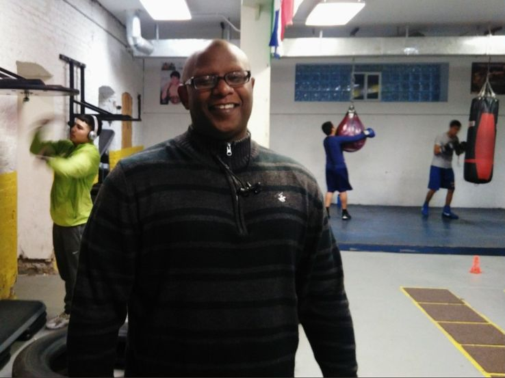 Charles Sergent - Directeur du Chicago Youth Boxing Club