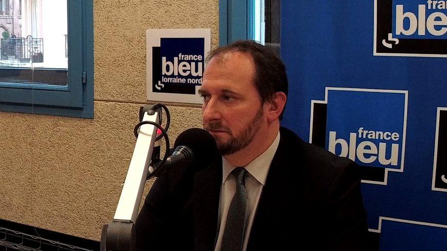 Christophe Arend, député de Forbach sur France Bleu Lorraine.