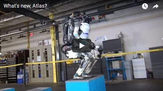 Le robot Atlas a réalisé un salto arrière